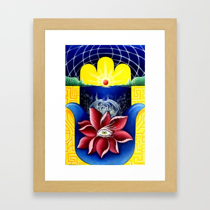 """Generate"" by Adam France and Nick Scotella Framed Art Print"