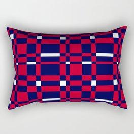 Union Jack Colours Rectangular Pillow