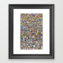 pokeman Framed Art Print