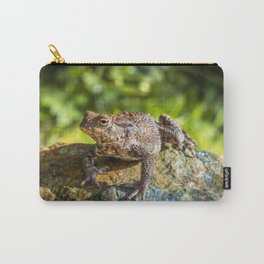 Amphibian, Common British Toad / Frog Carry-All Pouch
