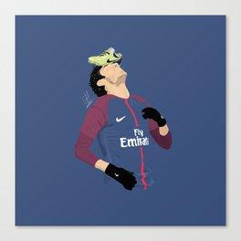 Neymar - PSG Canvas Print
