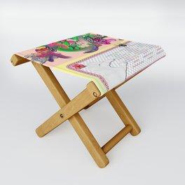 sampler Folding Stool