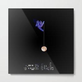 Moon Yo-yo Metal Print
