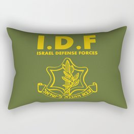 IDF Israel Defense Forces - with Symbol - ENG Rectangular Pillow
