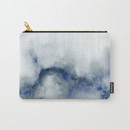 Indigo Abstract No.3 Carry-All Pouch