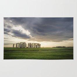 Sunset on Stonehenge Rug