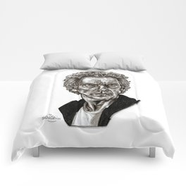 Peter Capaldi - Doctor Who - Drawing Comforters