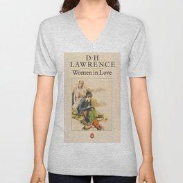 D H Lawrence - Women In Love Unisex V-Neck