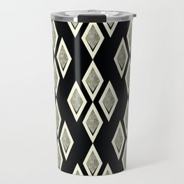 Black and cream ,classic Travel Mug