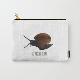 Slow-poke Snail Carry-All Pouch