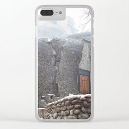 Meteora in Northern Greece Clear iPhone Case