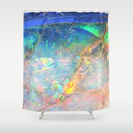 Ocean Opal Shower Curtain