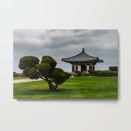 Korean Bell of Friendship Metal Print