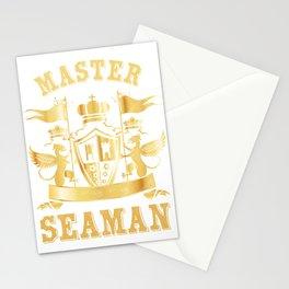 Master Seaman Naval Navy Merchant Ship Watchstander Sea Ocean Marine Gift Stationery Cards