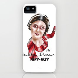 Isadora Duncan iPhone Case