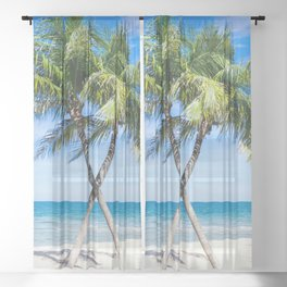 Carribean Sheer Curtain