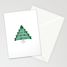 Merry Wishes Stationery Cards