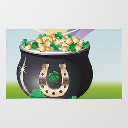 Pot of gold Rug
