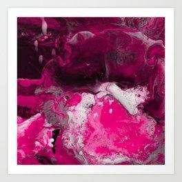 Abstract Ultra Violet Art Print