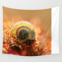 Morning impression with shell Wall Tapestry
