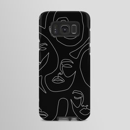 Faces in Dark Android Case