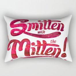 Smitten with the Mitten Rectangular Pillow