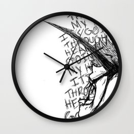 It's Going Through My Head - Kaneki Ken Wall Clock