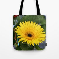 you are my sunshine Tote Bags featuring Sunshine  by IowaShots