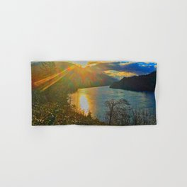 Columbia River Gorge, Sunset Hand & Bath Towel