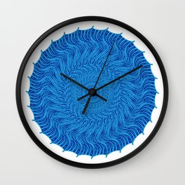 For when all you see is red Wall Clock