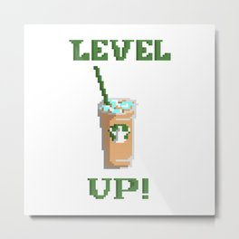 Level Up! Metal Print