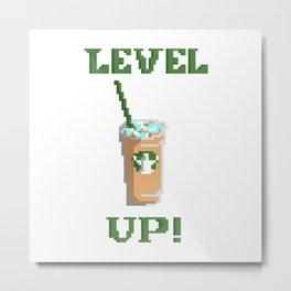 Level Up! Metal Print