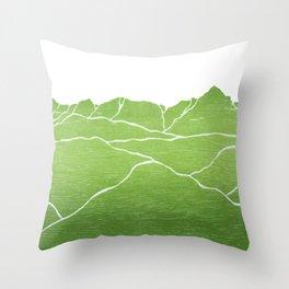 Colorado Mountain Ranges_Sneffels Throw Pillow
