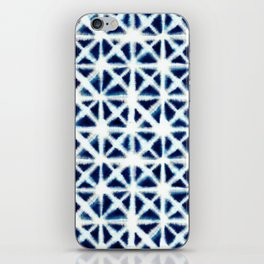 Shibori Triangles iPhone Skin