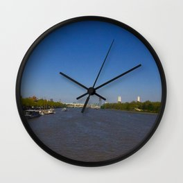 The River Thames, London Wall Clock