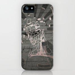 Exploding Head Guy iPhone Case