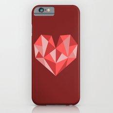 Geometric Love Heart iPhone 6s Slim Case