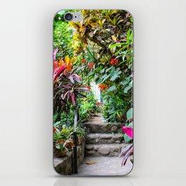 Dreamy Mexican Jungle Garden iPhone Skin
