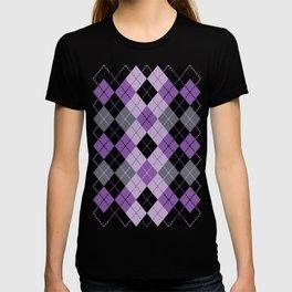 Purple Argyle T-shirt
