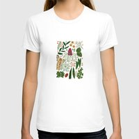 plants T-shirts featuring Plants by Roxanne Bee
