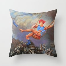 Thunder Swing Throw Pillow
