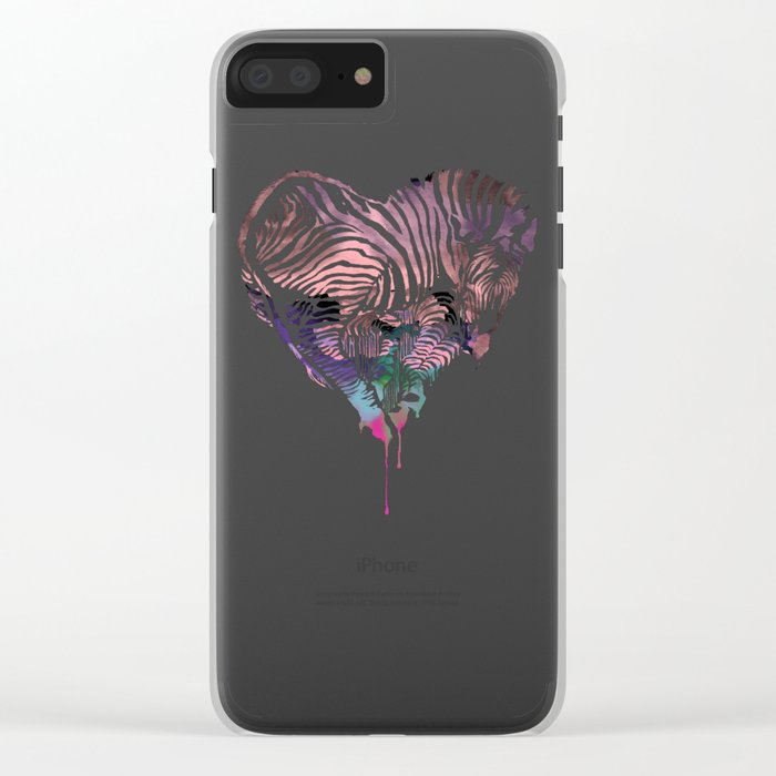 Z. Love Clear iPhone Case