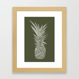 Pineapple : L'Olive Framed Art Print