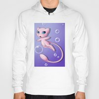 mew Hoodies featuring Mew Bubbles by AngelAito