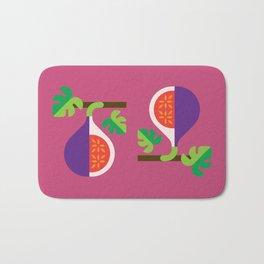 Fruit: Fig Bath Mat