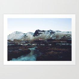 Iceland // Vik Art Print