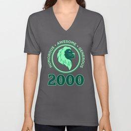 Leo 2000 Birthday Gift Unisex V-Neck