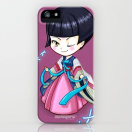 Chibi_corea iPhone Case