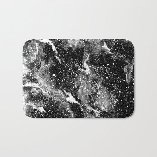 Galaxy (B/W) Bath Mat