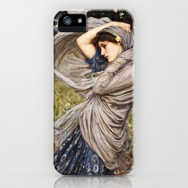 John William Waterhouse - Boreas iPhone Case